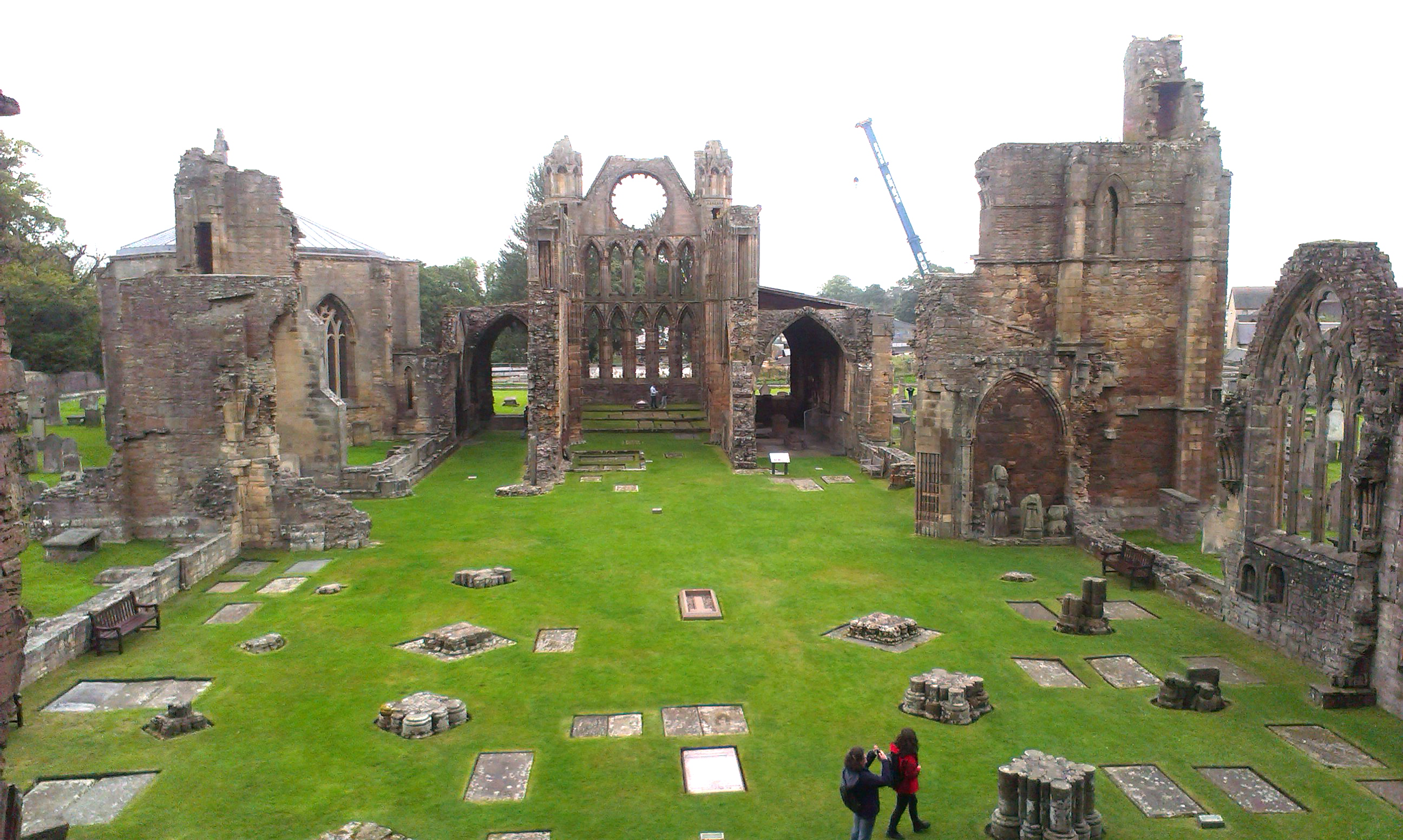 Elgin Cathedral, Elgin, Moray. Scotland. – Mists of Time